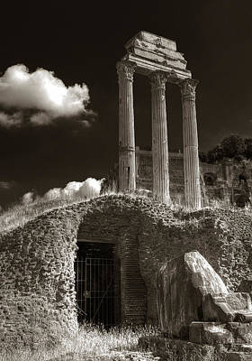 Temple Of Castor And Polux Art Print