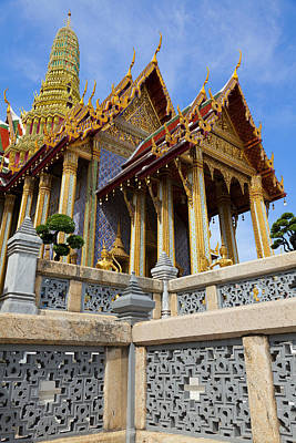 Photograph - Temple Of Emerald Buddha  by Alexey Stiop