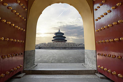 Temple Of Heaven Art Print by Zyxeos30