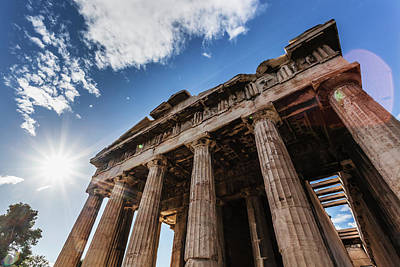Hephaestus Wall Art - Photograph - Temple Of Hephaestus  Athens, Greece by Reynold Mainse