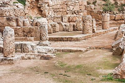 Hera Photograph - Temple Of Hera by Gabriela Insuratelu
