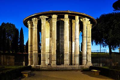 Photograph - Temple Of Hercules Victor by Fabrizio Troiani
