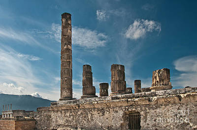 Photograph - Temple Of Jupiter by Marion Galt