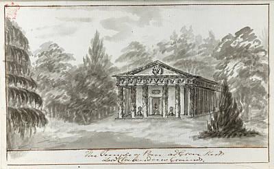 Temple Of Pan Art Print