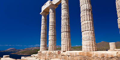 Photograph - Temple Of Poseidon At Sounion by Brad Brizek
