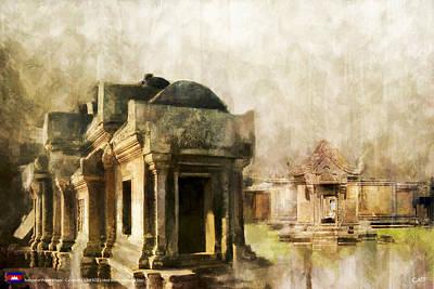 Temple Of Preah Vihear Art Print