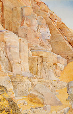 Temple Of Ramses II Art Print by Mountain Dreams
