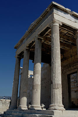 Photograph - Temple Of The Athena Nike by Lorraine Devon Wilke