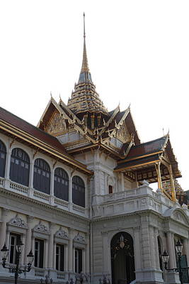 Temple Of The Emerald Buddha - Grand Palace In Bangkok Thailand - 011313 Art Print by DC Photographer