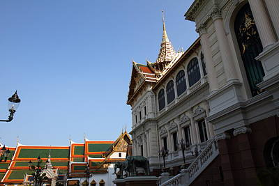 Temple Of The Emerald Buddha - Grand Palace In Bangkok Thailand - 011317 Art Print