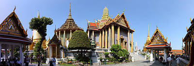 Temple Of The Emerald Buddha - Grand Palace In Bangkok Thailand - 01134 Art Print