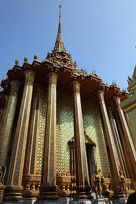 Temple Of The Emerald Buddha - Grand Palace In Bangkok Thailand - 01138 Art Print by DC Photographer