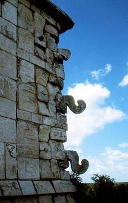 Chichen Itza Painting - Temple Of The Warriors Chichen Itza by David M Davis