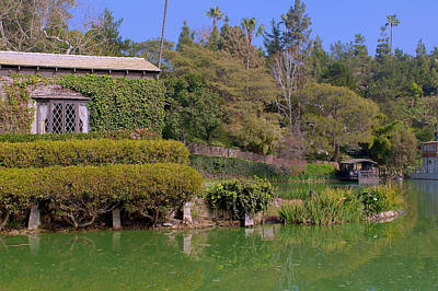 Photograph - Temple On The Lake by Richard J Cassato