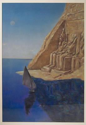 Temple  Art Print by Paez  Antonio