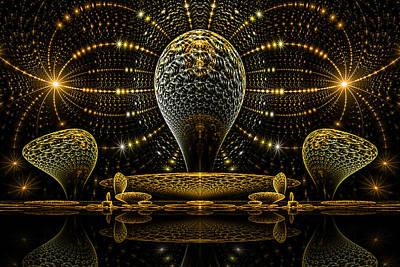 Phil Clark Digital Art - Temple by Phil Clark