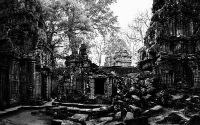 Photograph - Temple Ruin by Julian Cook