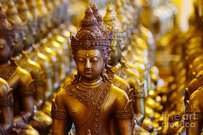 Photograph - Temple Statues by Dennis Hedberg