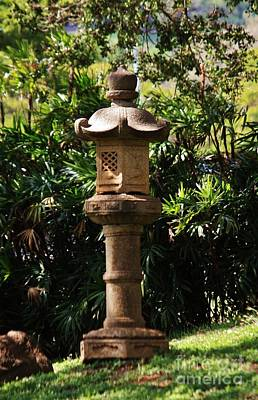 Ishidoro Photograph - Temple Stone Lantern by Craig Wood