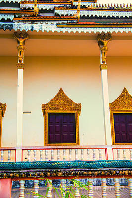 Photograph - Temple Windows by Rick Bragan