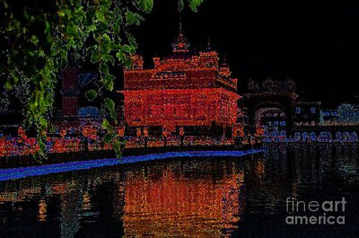 Photograph - Temple With Calmness by Manjot Singh Sachdeva