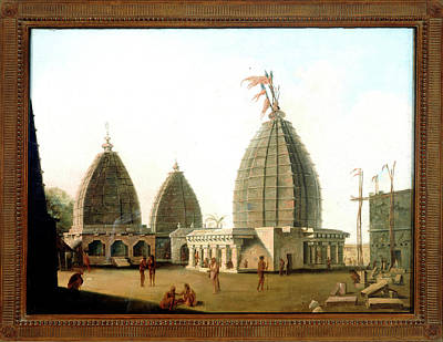 Temples Print by British Library