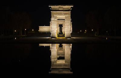 Photograph - Templo De Debod II by Pablo Lopez