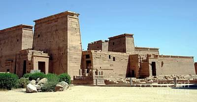 Templo De Isis  Art Print
