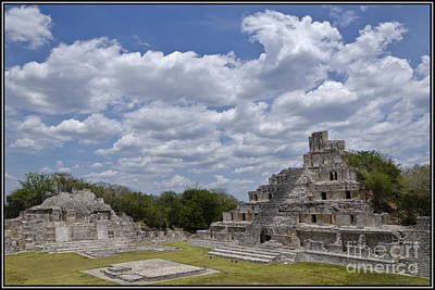 Photograph - Templo Edzna by Agus Aldalur