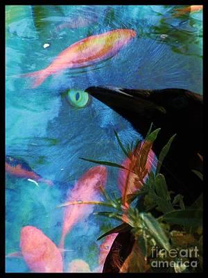 Plotting Digital Art - Temptation  by Elizabeth McTaggart