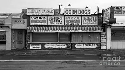 Caesar Photograph - Temptations At Hampton Beach by Edward Fielding