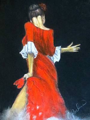 Female Painting - Tempted Again by C Pichura