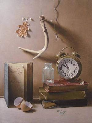 Painting - Tempus Fugit by Timothy Jones