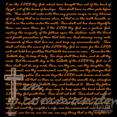 Jesus Christ Digital Art - Ten 20130213v2 by Wingsdomain Art and Photography