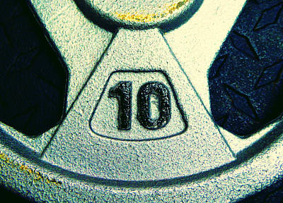 Photograph - Ten Pound Weight by Laurie Tsemak
