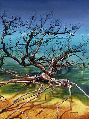 Ten Thousand Islands Art Print by Urszula Dudek
