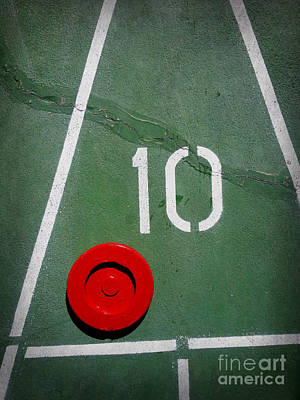 Photograph - Ten With Red Puck by Valerie Reeves