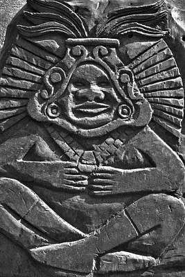 Tenancingo's Malinche Art Print by John  Bartosik