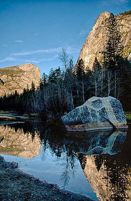 Photograph - Tenaya Creek Reflections by Cat Connor