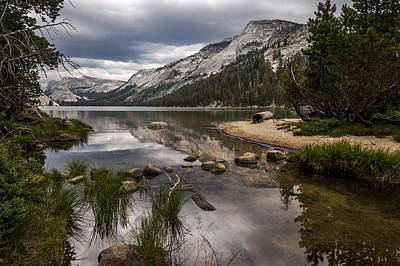 California Yosemite Photograph - Tenaya Lake Outlet by Cat Connor