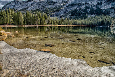 Sierra Nevada Mountains Photograph - Tenaya Reflections by Cat Connor