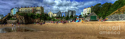 Photograph - Tenby Beach by Jeremy Hayden