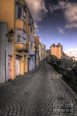 Tenby Photograph - Tenby Cobbles by Rob Hawkins