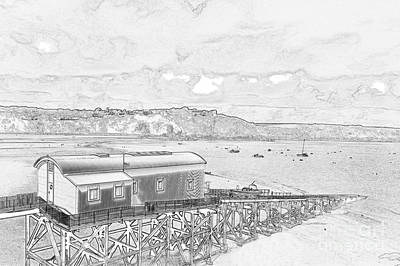 Photograph - Tenby Old Lifeboat Station by Steve Purnell