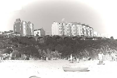 Photograph - Tenby South Beach by Jeremy Hayden