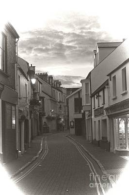 Photograph - Tenby Street by Jeremy Hayden