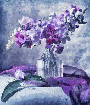 Moment Mixed Media - Tender Moments Still Life by Georgiana Romanovna