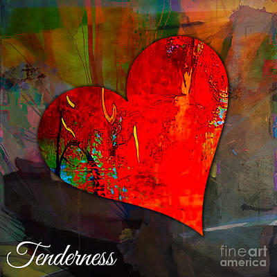 Mixed Media - Tenderness by Marvin Blaine