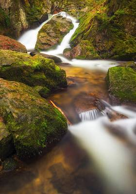 Photograph - Tendon's Waterfall by Maciej Markiewicz