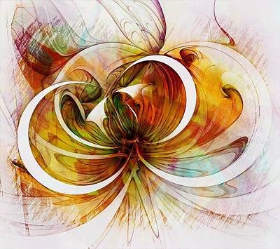 Tendrils 14 Art Print by Amanda Moore